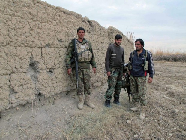 Member of Afghan Security forces defeated by Taliban fighters in southern Helmand province