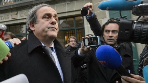 Michel Platini was suspended from all football-related activities for eight years by FIFA's ethics committee