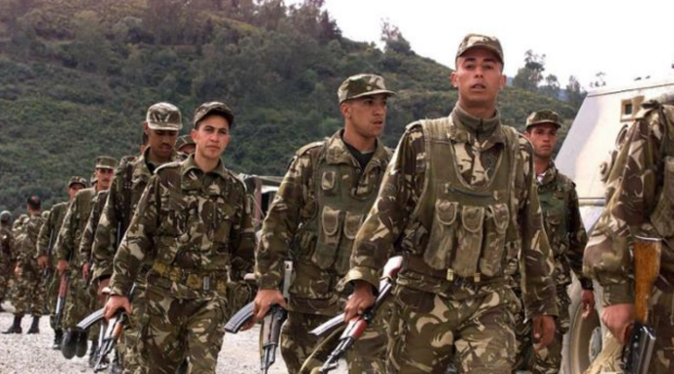 Algerian soldiers have carried out a string of raids this year (AFP)