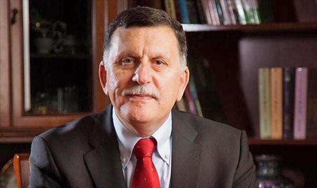Fayiz Al-Serraj, the Head of the Presidential Council