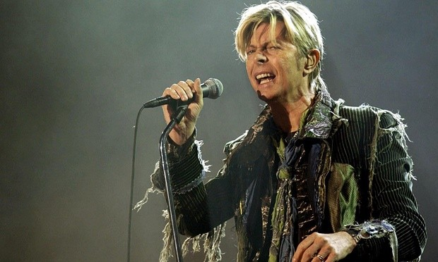 David Bowie died of liver cancer on 10 January. Photograph: Yui Mok/PA