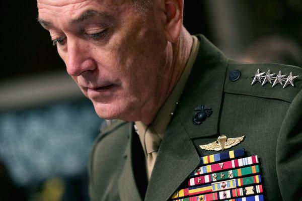 Gen. Joseph Dunford Jr. Credit Chip Somodevilla/Getty Images
