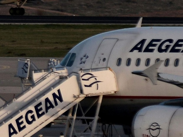 The plane was stuck on the tarmac for almost two hours as the argument continued AFP/Getty Images