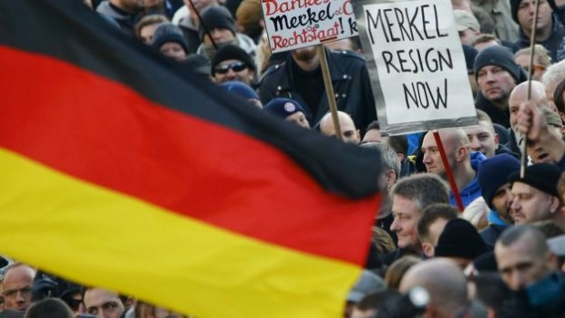Anti-immigration movement Pegida held a rally in Cologne on Saturday