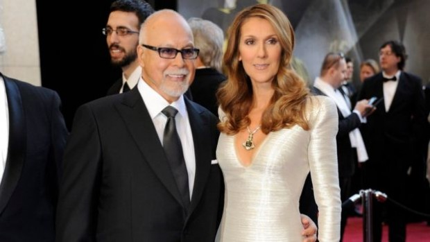 Celine Dion recorded an album under Mr Angelil's management aged just 12