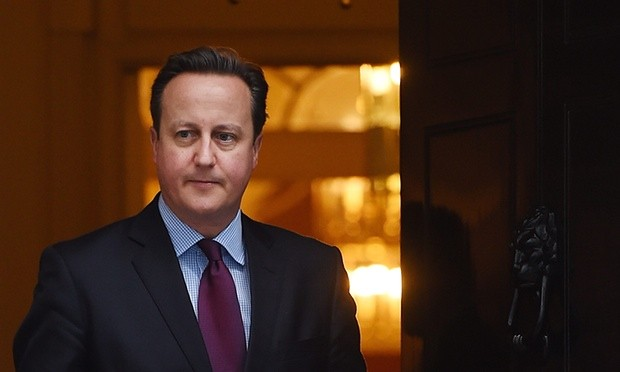 David Cameron says a vote to leave the EU won't cost him his job. Photograph: Andy Rain/EPA