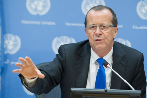 Special Representative and Head of the UN Support Mission in Libya (UNSMIL) Martin Kobler. UN Photo/Manuel Elías