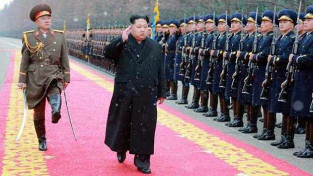 North Korean leader Kim Jong-un defended the test as self-defence
