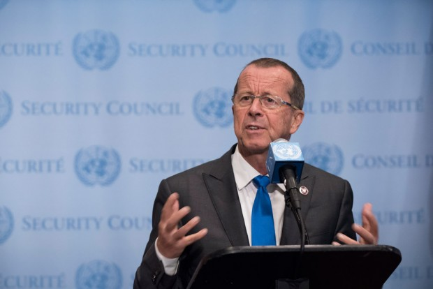 Special Representative Martin Kobler of Germany. UN Photo-Kim Haughton