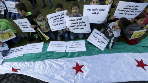 Syrian opposition supporters have urged the UN to ensure aid reaches Madaya