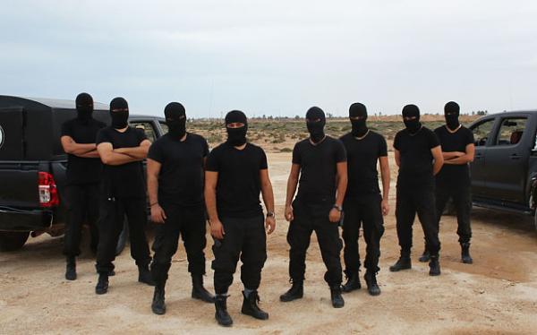 The Masked Men in Zuwara, Libya. (Photo: Ethiogrio)