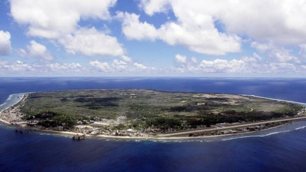 The island nation of Nauru holds migrants while Australia processes their asylum claims | AFP