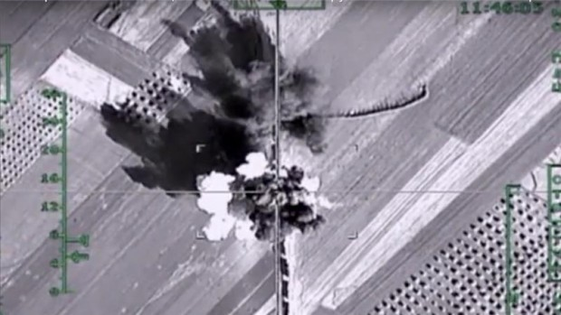 Russian air strikes have helped the Syrian government regain territories from opposition fighters [AP]