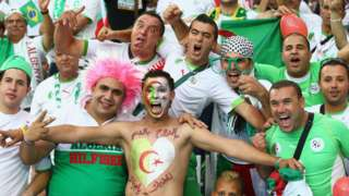 Algeria's fans are not as happy now as they were during the 2014 World Cup