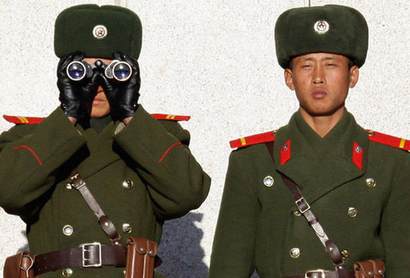 North and South Korea are separated by the most heavily armed border in the world