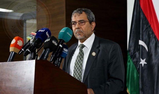 The Foreign Minister of the National Salvation Government, Ali Abu Zakouq