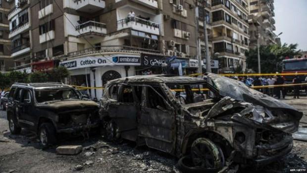 "One of Mr Barakat's bodyguards said that the 2015 explosion had felt like an ""earthquake"""