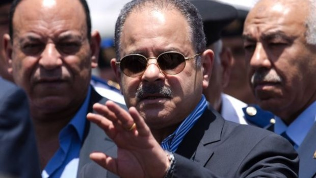 "Interior Minister Magdy Abdel Ghaffar described Mr Barakat's murder as a ""very big conspiracy"""