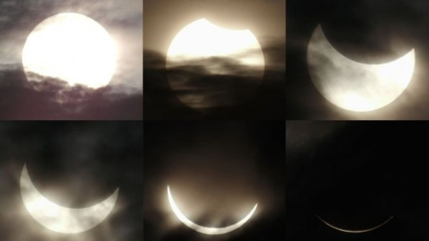 Belitung in Indonesia was the best place to witness the total solar eclipse