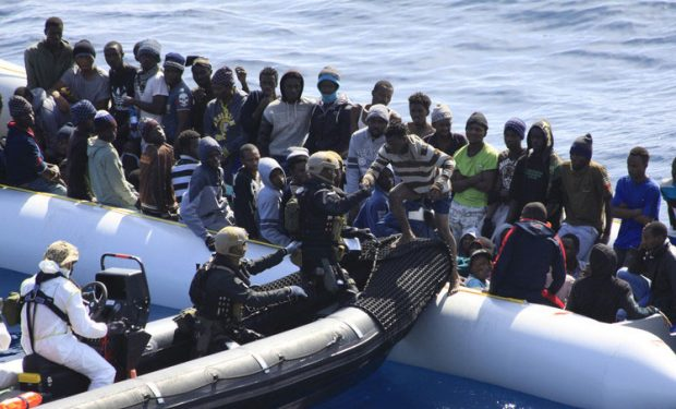 EU warships in the Mediterranean have picked up thousands of migrants trying to make the risky crossing (Photo: EEAS)