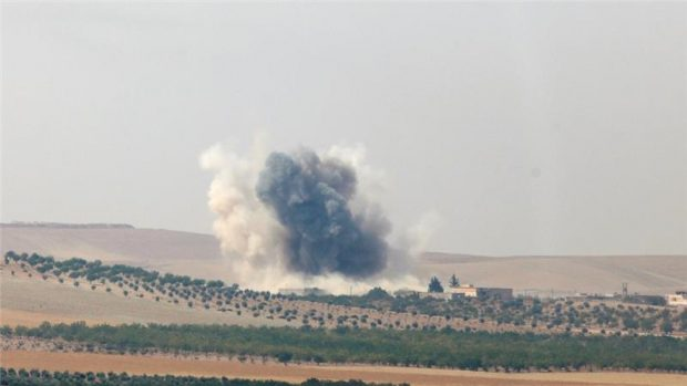 The operation reportedly involved artillery and rocket shelling as well as warplanes and tanks [Reuters]
