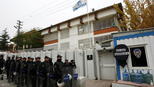 Police shoot attacker at Israeli embassy in Turkey
