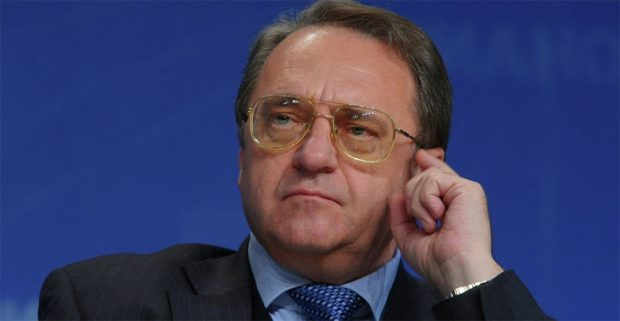 The Russian Deputy Foreign Minister, Mikhail Bogdanov