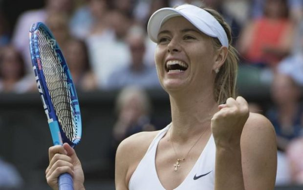 Maria Sharapova will now be free to compete at Wimbledon in 2017 CREDIT: COCO VANDEWEGHE/REX SHUTTERSTOCK