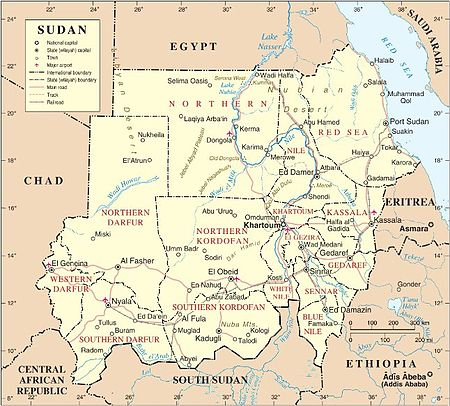 Sudanese Nationals In Dire Conditions On Egyptian Libyan - Map of egypt libya and sudan