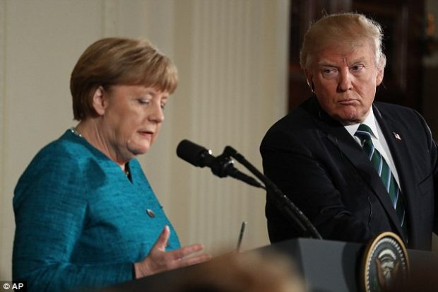 Germany rejects President Trump's claim it owes North Atlantic Treaty Organisation  'vast sums'