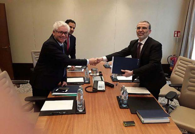 Noc signs mou with bmce for banking collaboration libyan for Banque algerienne du commerce exterieur