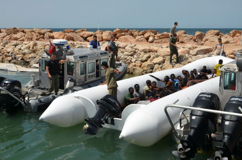 Spain saves 73 migrants in 3 boats crossing from Africa