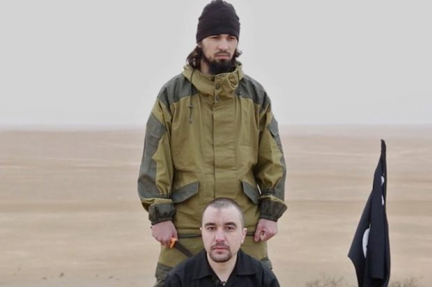 ISIS claims to behead Russian intelligence officer in Syria