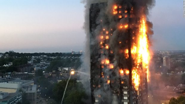 Chief fire officer: sprinklers now a must for high rise flats