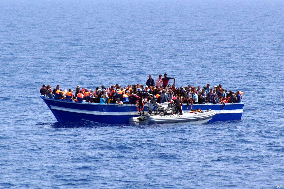 Italian Interior Minister In Tripoli For Talks Over Illegal Immigration As 4100 Migrants Rescued
