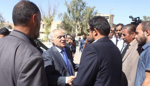 UN delegate to Libya Ghassan Salame visits Zintan