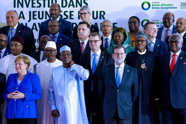 President Attends 5th AU/EU Summit In Cote D'Ivoire