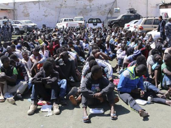 Amnesty says European Union  is complicit in migrant torture in Libya