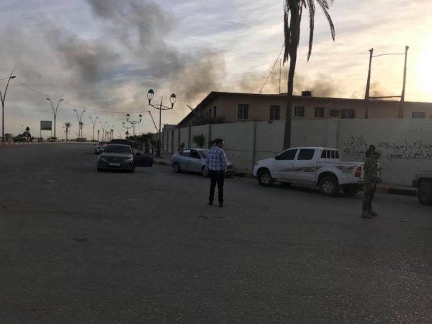 Heavy clashes hit Libya airport