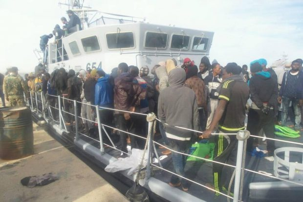 Survivors, coastguard say dozens of migrants missing off Libya