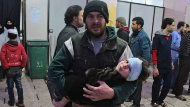 United Nations  chief 'deeply alarmed' by Eastern Ghouta violence