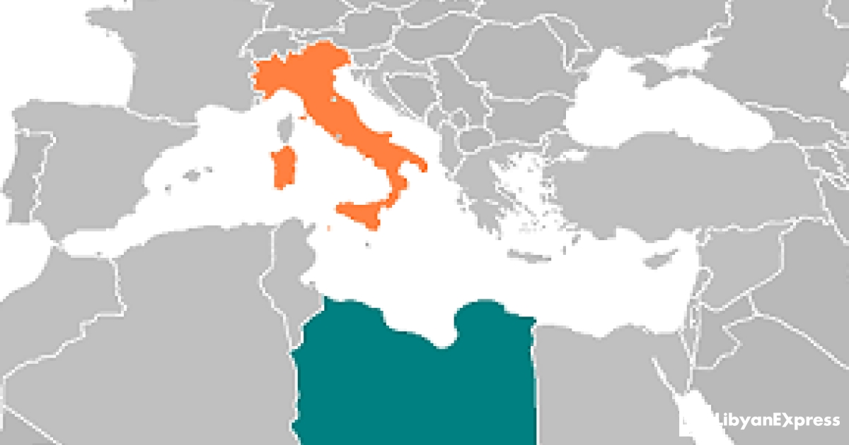 Libya To Italy Map.Italy And Britain Prepare To Occupy Libya Once Again