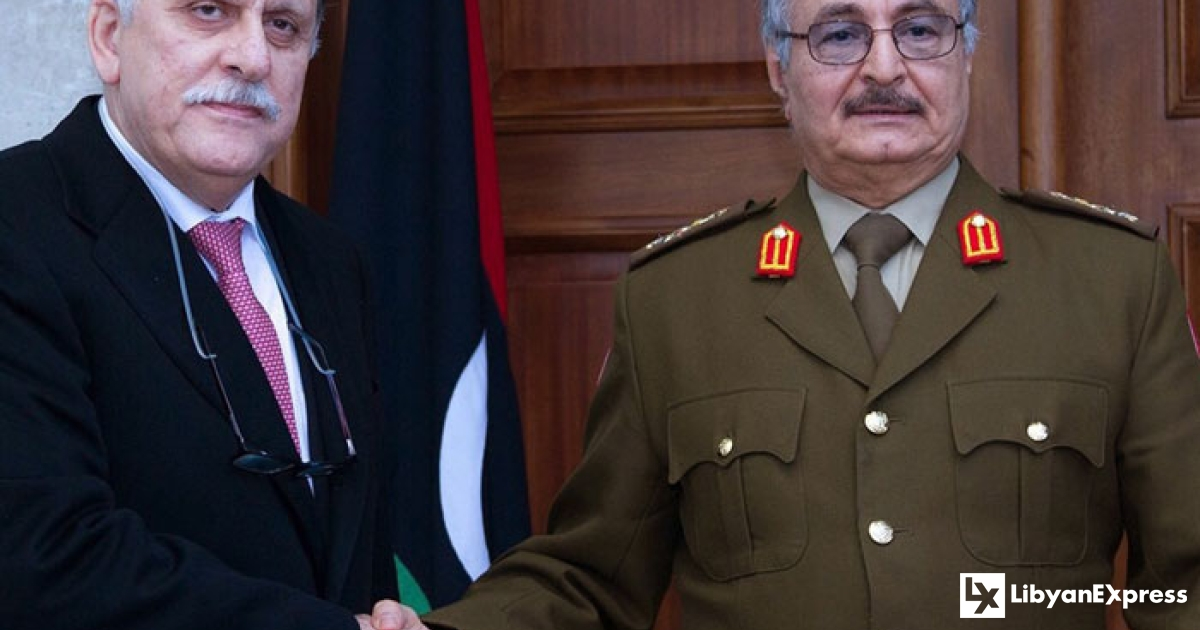 Haftar rejects meeting with GNA Prime Minister, Al-Serraj in