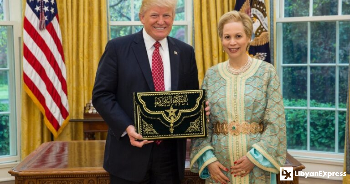 Trump receives award for normalisation efforts between Israel and Morocco