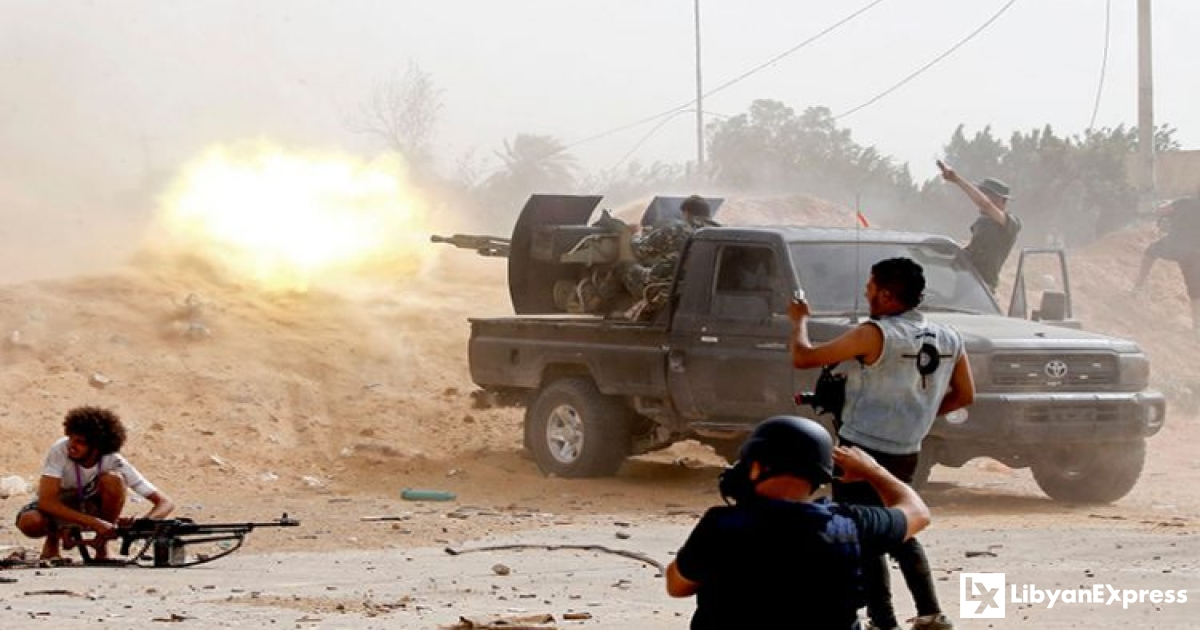 Libyan GNA thwarts attack on Gharyan as Al-Asaba town falls to Haftar's forces - Libyan Express