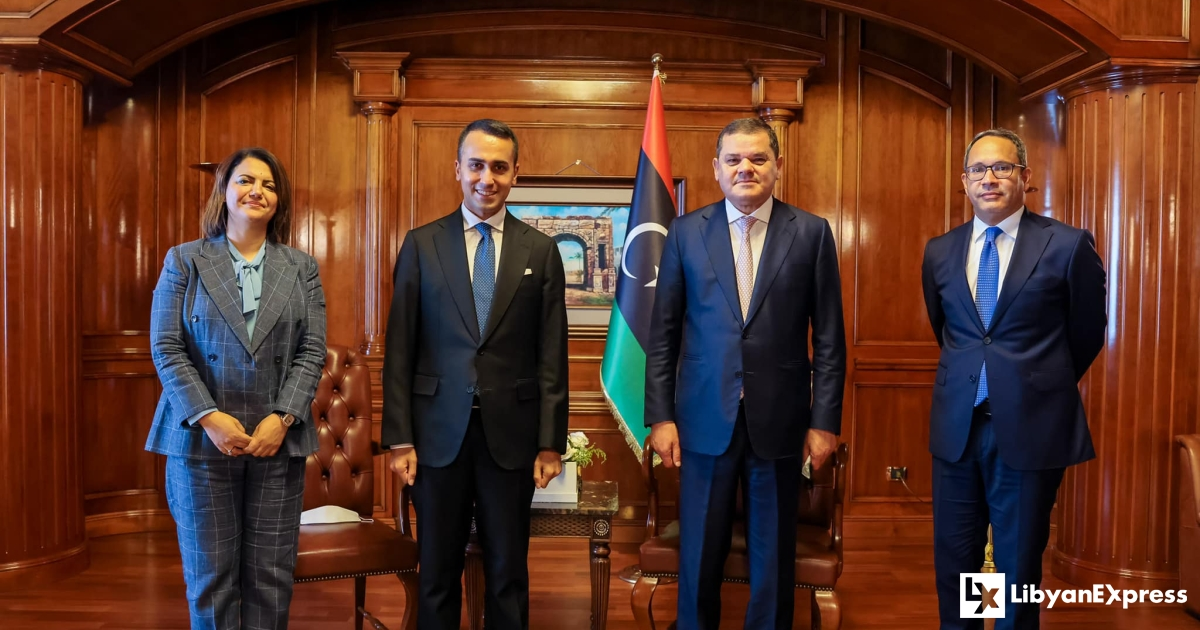 Dabeiba meets with Italian FM to examines mutual cooperation and investment