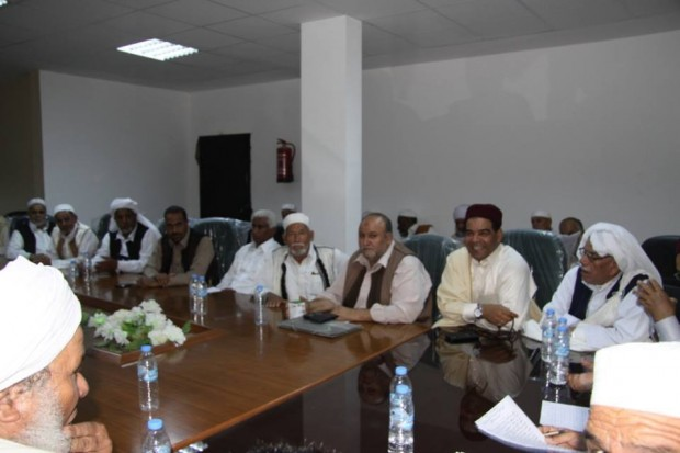 The Elders Council in the southern city of Kufra