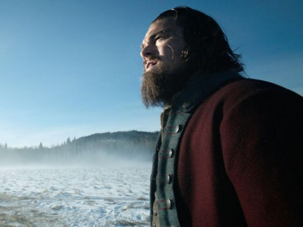 Leonardo DiCaprio in a scene from The Revenant 20th Century Fox/AP