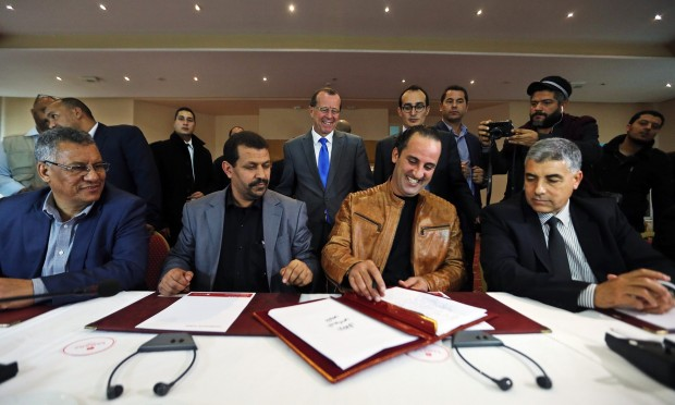 Libya unity accord
