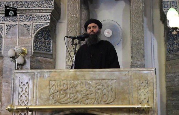 Abu Bakr al-Baghdadi, the leader of the so-called Islamic State (Daesh)
